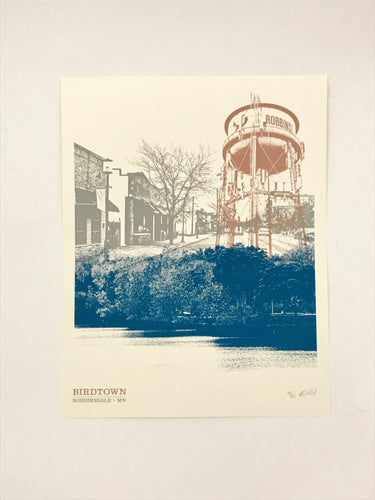 Birdtown Art Print :: A Minnesota Makers Exclusive!