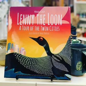 Lenny The Loon Explores the Twin Cities Children's Book