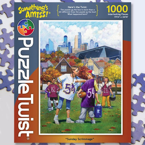 Sunday Scrimmage :: Jigsaw Puzzle