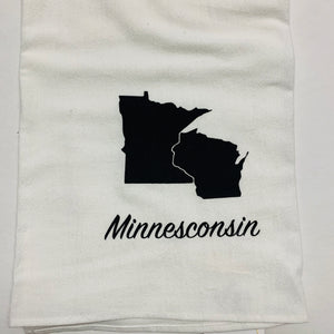 Minnesconsin Flour Sack Towel
