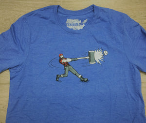 Paul Bunyan Baseball T-Shirt