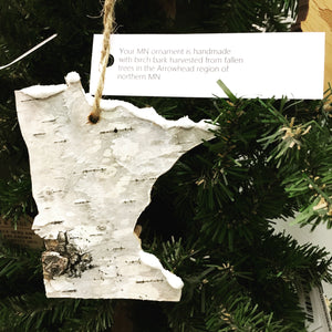 Birch Wood Ornament