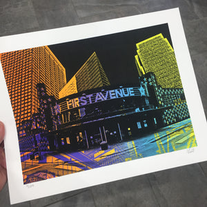 First Ave Print