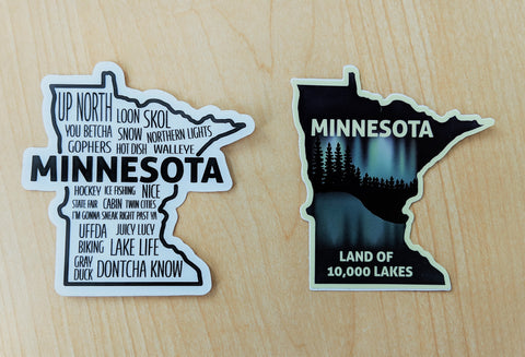 Minnesota Stickers