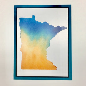 Minnesota Greeting Card