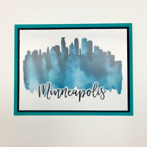 Minneapolis Greeting Card