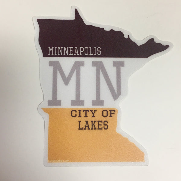 Minneapolis Stickers