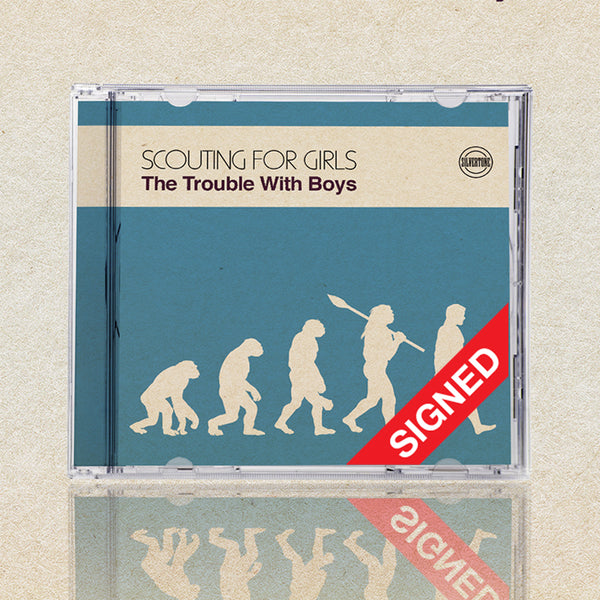 THE TROUBLE WITH BOYS - SIGNED CD