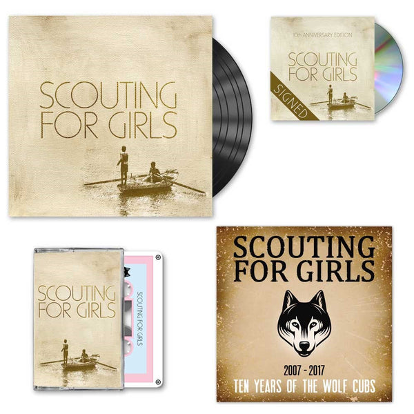 Scouting For Girls 10th Anniversary Edition - Signed 2CD + LP Bundle