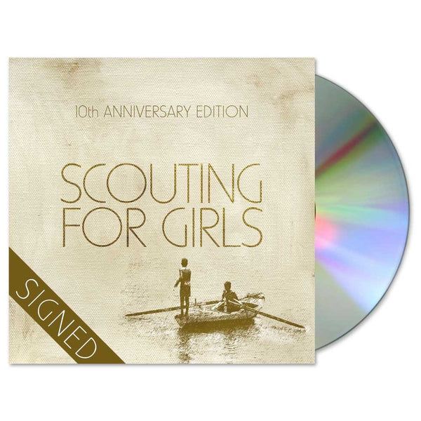 SCOUTING FOR GIRLS 10TH ANNIVERSARY EDITION - SIGNED 2CD