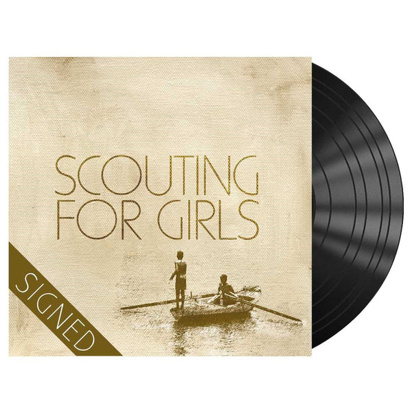 SCOUTING FOR GIRLS - SIGNED LP