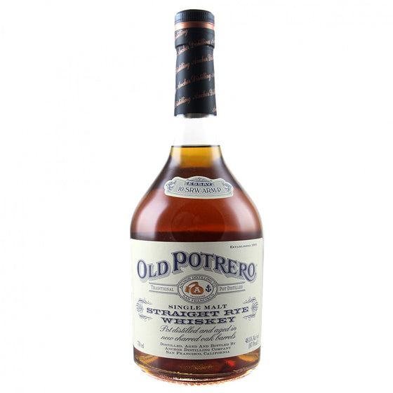 Old Potrero Rye PlumpJack Single Barrel 2019