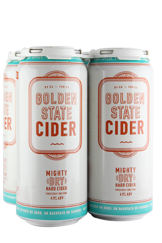 Golden State Cider Mighty Dry 4-Pack