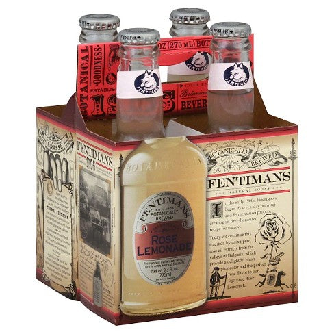 Fentimans Rose Lemonade 4-Pack