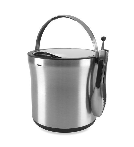 OXO Steel Ice Bucket & Tong