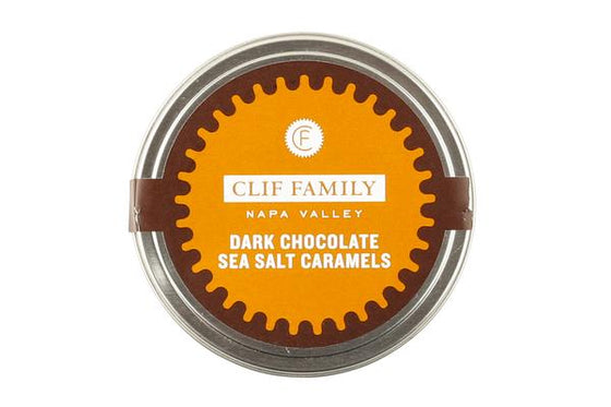 Clif Family Dark Chocolate Sea Salt Caramels