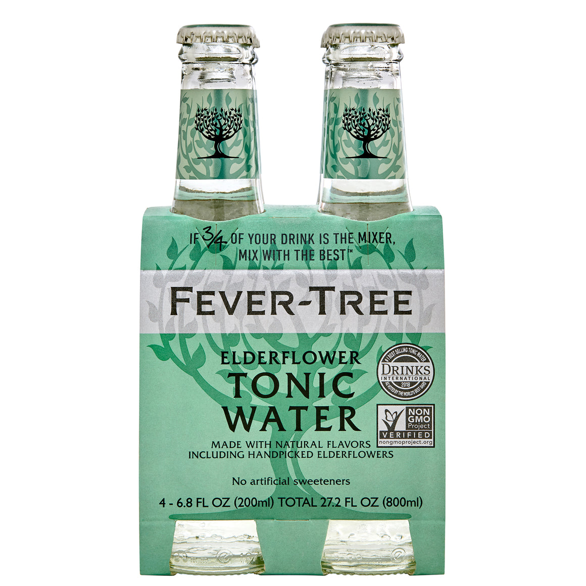 Fever Tree Elderflower Tonic 4pk