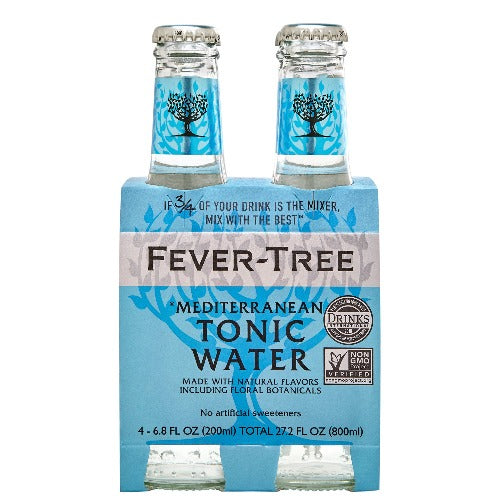 Fever Tree Mediterranean Tonic 4-Pack