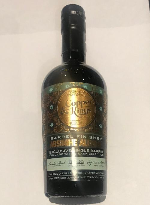Copper & Kings PlumpJack Barrel Select Absinthe