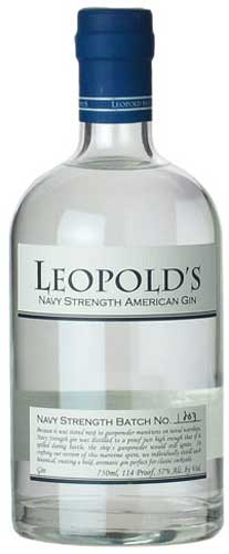 Leopold's Navy Strength Gin