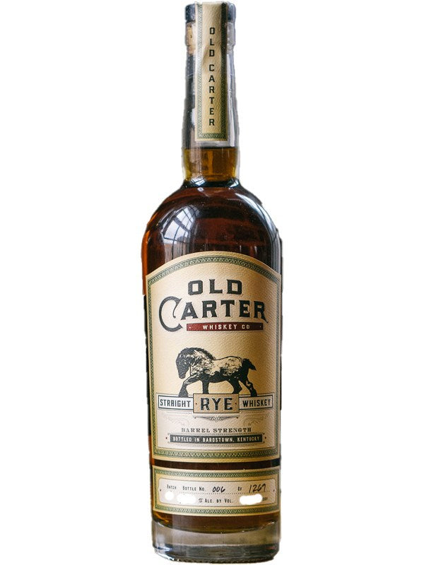Old Carter Rye Batch 5 115.1 Proof