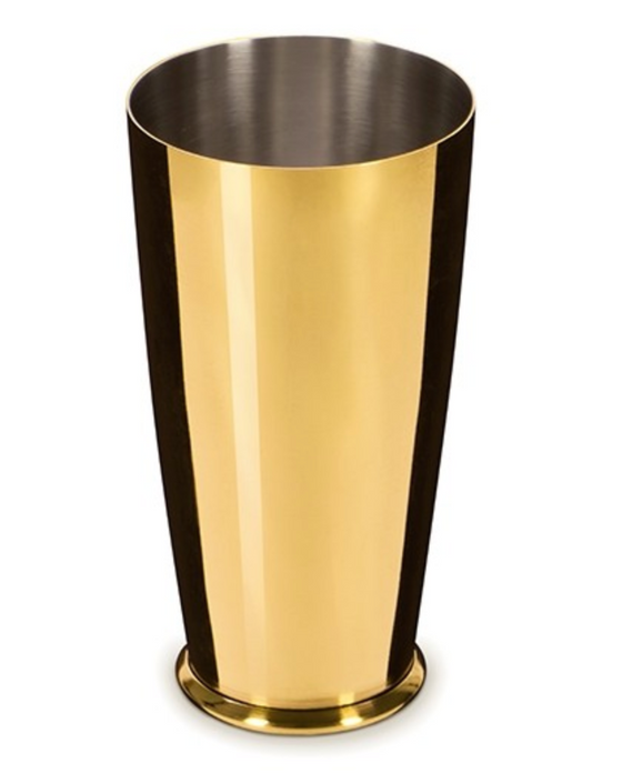 Leopold™ Gold Small Weighted Shaker Tin