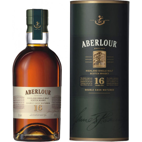 Aberlour 16 Year Single Malt Scotch Whiskey
