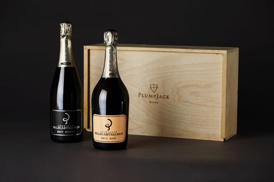 Billecart-Salmon Brut and Rosé Duo Gift Box