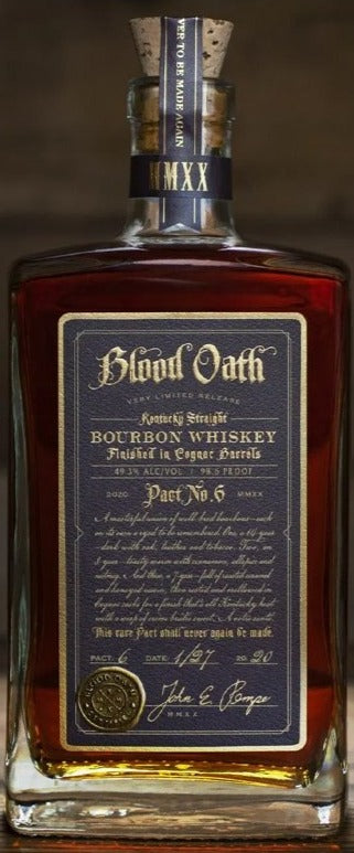 Blood Oath Pact. 6 Bourbon