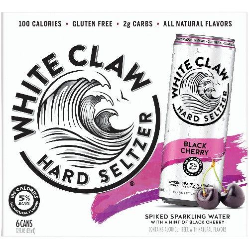 White Claw® Black Cherry 6 Pack
