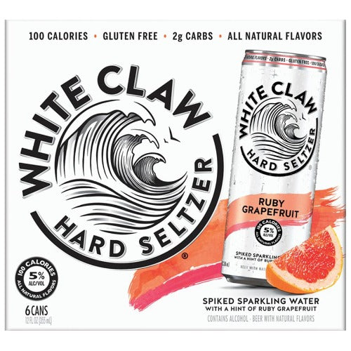 White Claw® Grapefruit 6 Pack