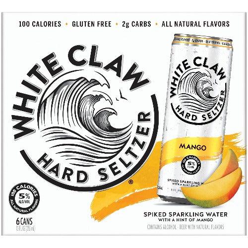 White Claw® Mango 6 Pack