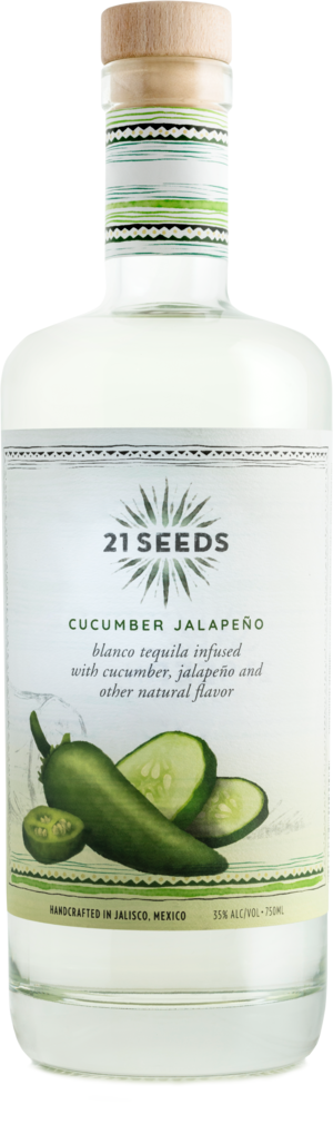 21 Seeds Cucumber Jalepeno Infused Tequila