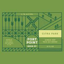 Fort Point Citra Park Pale Ale 6-Pack