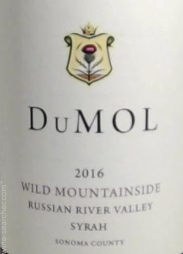 DuMol Wild Mountainside Syrah