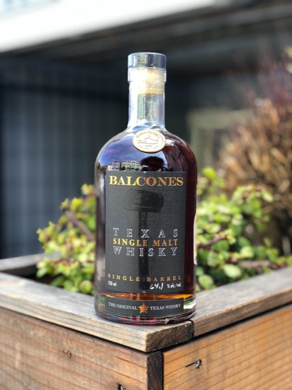 Balcones Single Malt Whisky PlumpJack Private Selection 'TexiCali Booze'