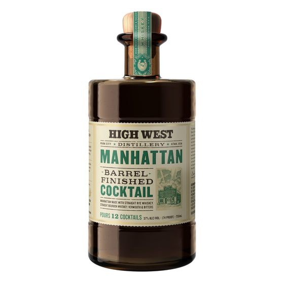 High West Manhattan Cocktail