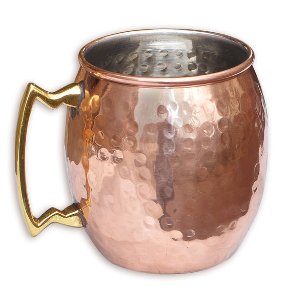 Moscow Mule Dimpled Copper Mug