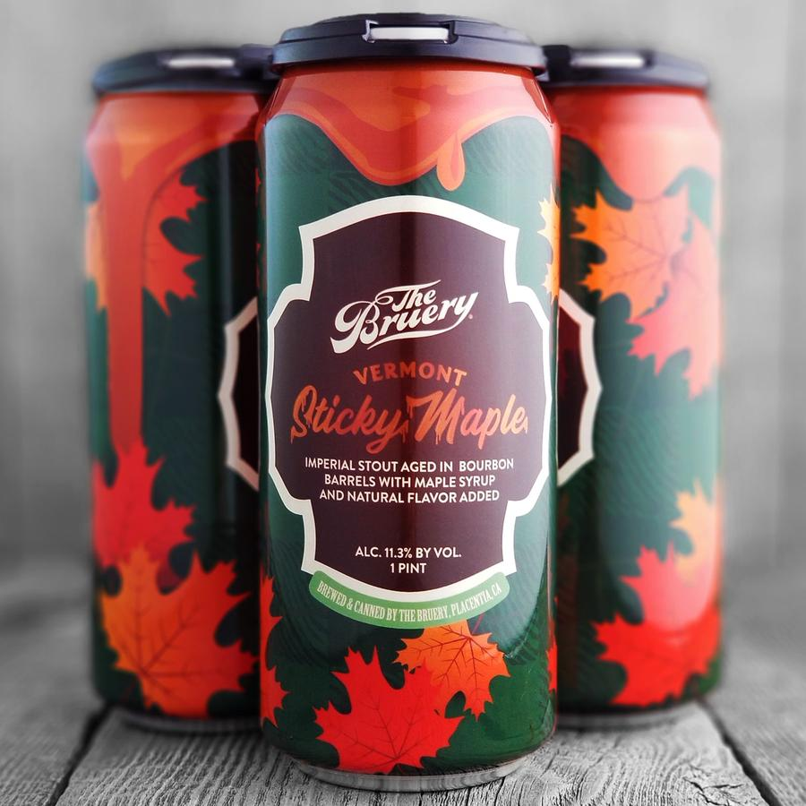 The Bruery Vermont Sticky Maple Individual Can