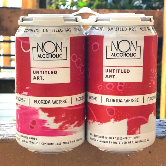 Untitled Art Non-Alcoholic Florida Weisse (6-pack)