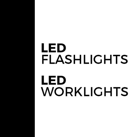 LED Flashlights and Worklights