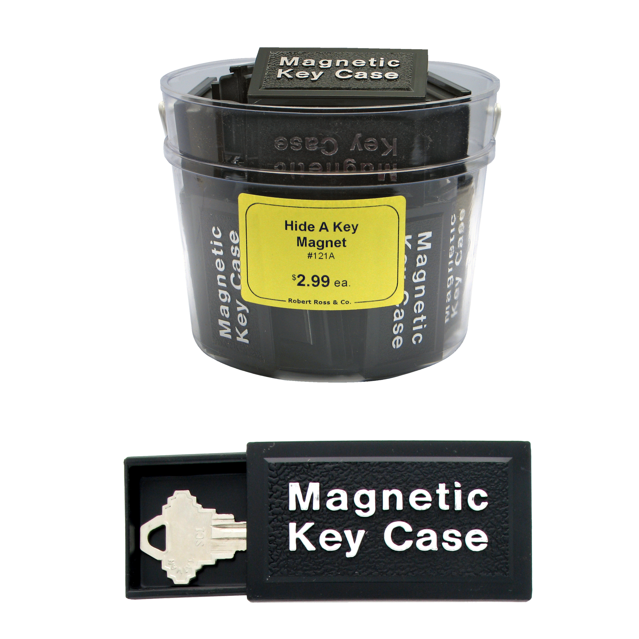 Magnetic Hide A Key (24 pc DISPLAY)