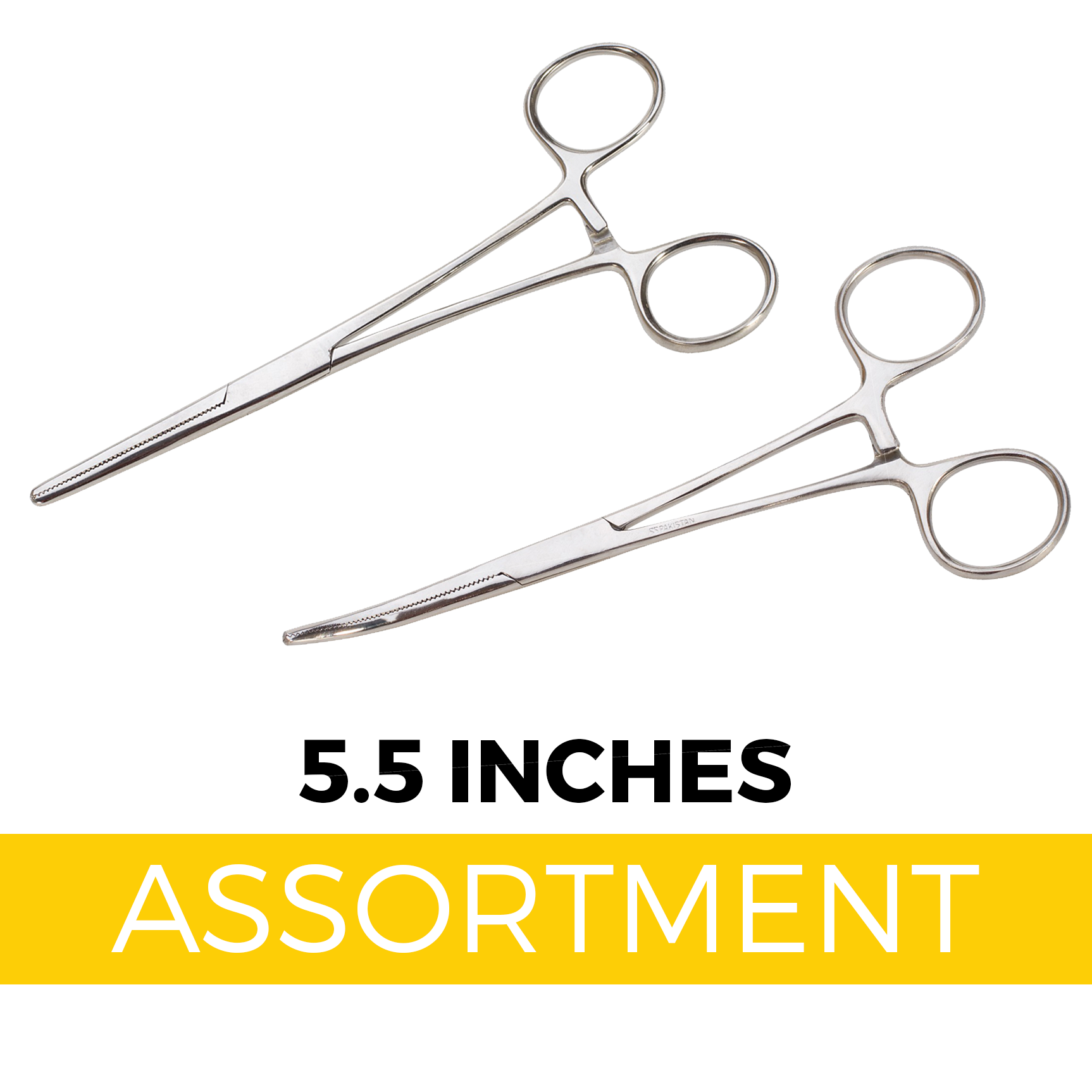 "Handy Clamps - 5.5"" Forceps Assortment (20 pc Display)"