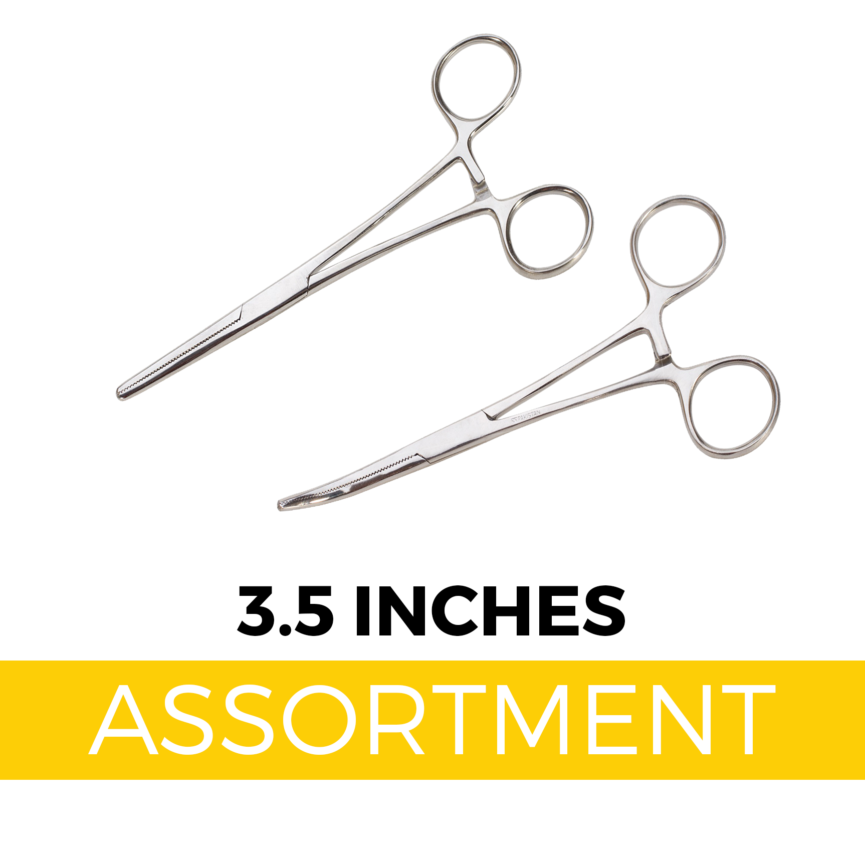 "Handy Clamps - 3.5"" Forceps Assortment (20 pc Display)"