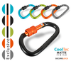 TEMPORARILY UNAVAILABLE - CoolTec® Secure Lock Carabiner - 60 mm (48 pc Display)