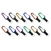 Carabiner with Strap - 80 mm (18 pc Display)