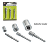 3 pc Power Extension Bit Set (6 pc Clip Strip)