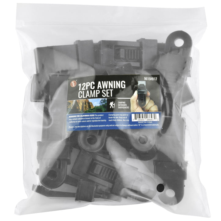 Awning Clamp - 12 Pack  (1 Bag)