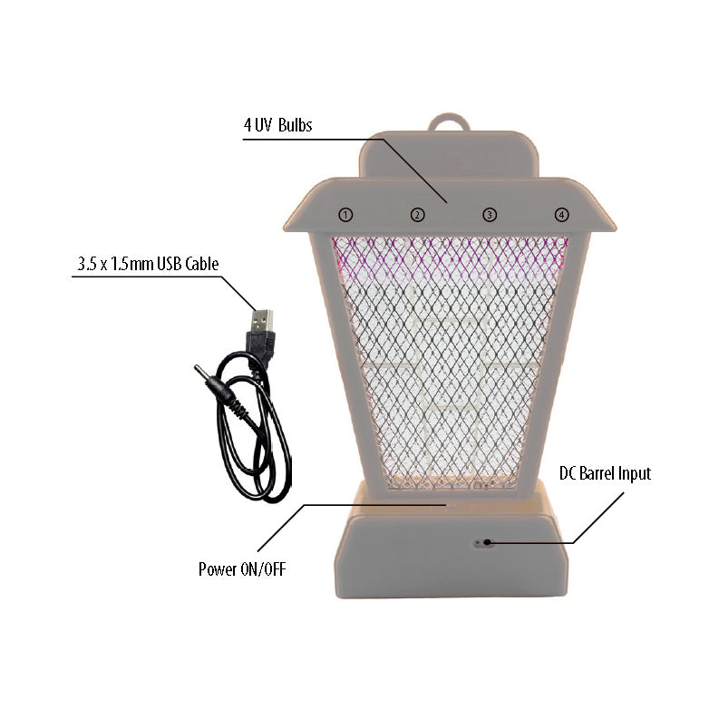 Rechargeable UV Bug Zapper (1 pc)
