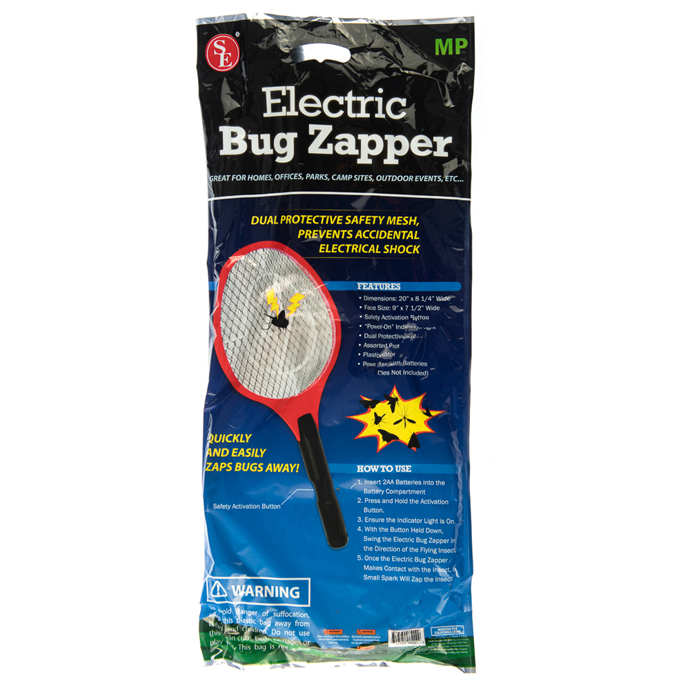 DISCONTINUED - Large Electric Bug Zapper (6 pc Clip Strip)